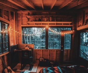 bedroom, cabin, and dream room image