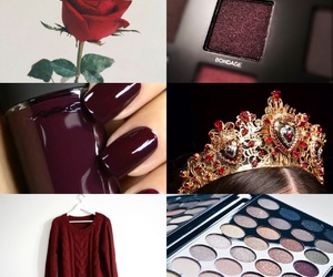 aesthetics, red, and burgundy image