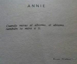 books, annie, and abismo image
