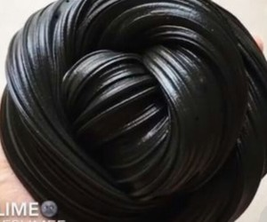 black and slime image
