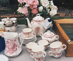 antique, china, and coffee image