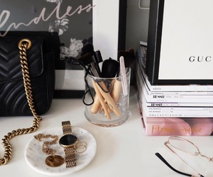 fashion, goals, and makeup image