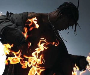 goosebumps, rapper, and travis scott image