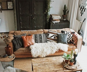 interior, interior design, and living room image
