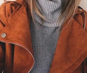 fashion, jacket, and fall image