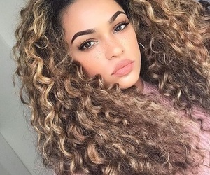 beauty, pretty, and hair goals image
