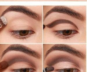 makeup, eyeliner, and eyes image