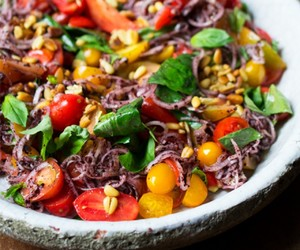 healthy and vegetarian image