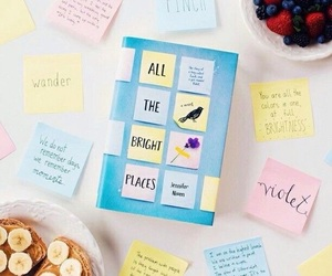 books, quotes, and all the bright places image