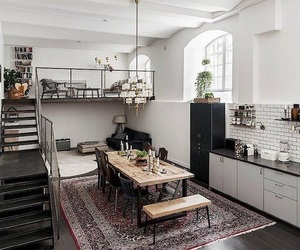 home, design, and kitchen image