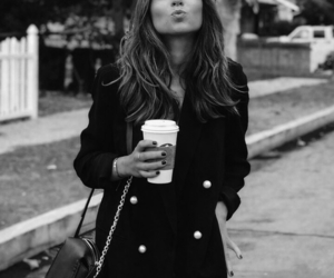 beauty, black, and coffee image