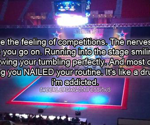 addicted, cheer, and competition image