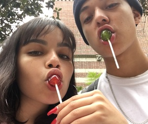 couple, goals, and lollipop image