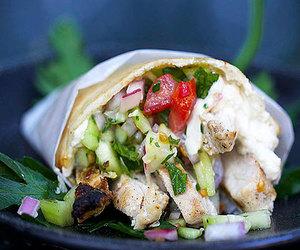 Chicken, wrap, and shawarma image