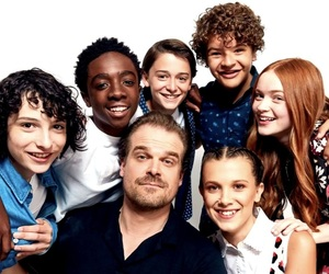cast and stranger things image