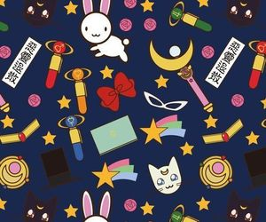 sailor moon, background, and wallpaper image