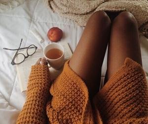 autumn, fall, and tea image