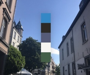 aachen, aesthetic, and blue image
