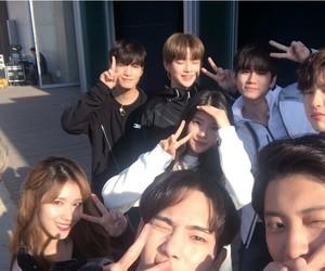 daniel, seongwu, and JYP image