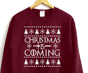 etsy, fall sweater, and christmas sweater image