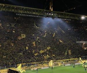 fans, football, and borussia dortmund image