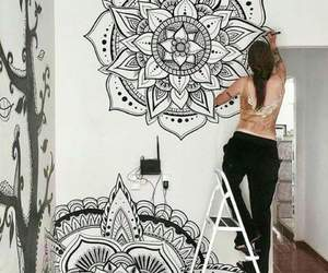mandala and peace image