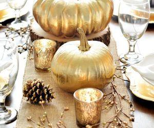 decor, fall, and pumpkin image