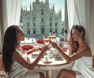 luxury, rich, and friends image