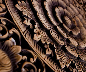 carved, carving, and brown image