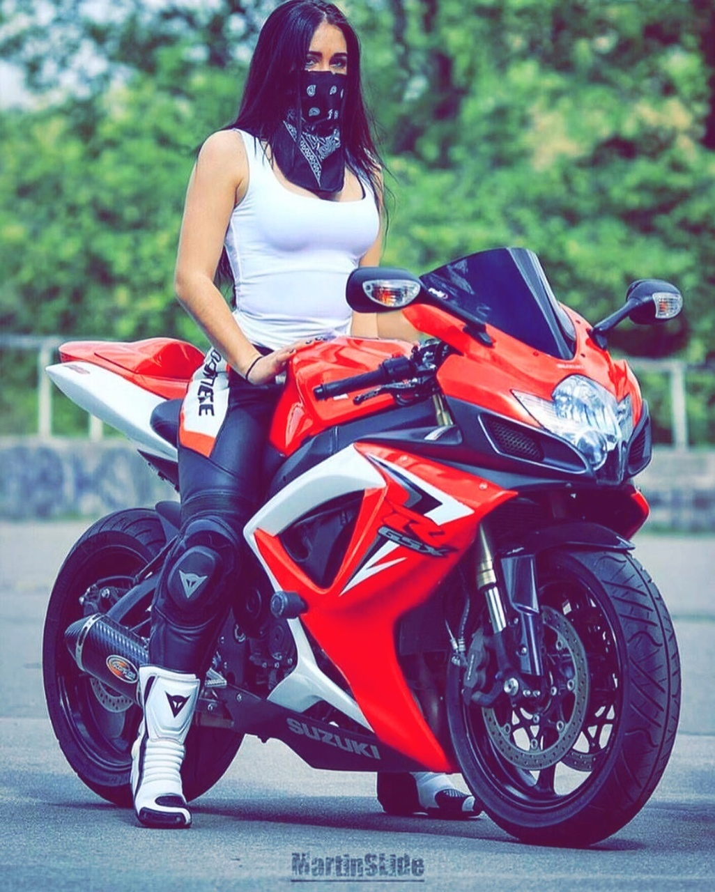 Pin On Sportbike Girls