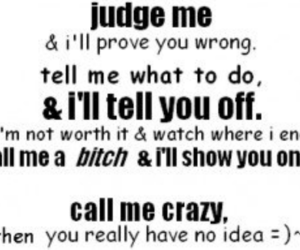 quotes, bitch, and judge image