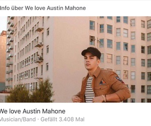 aesthetic, austinmahone, and mahomie image