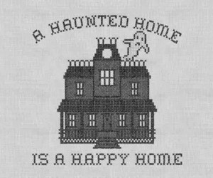 ghost, haunted, and Halloween image