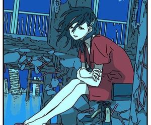 girl, illustration, and alternative image