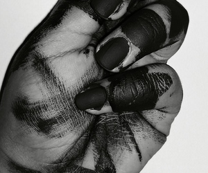 art, hate, and nails image