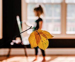 autumn, beautiful, and girl image