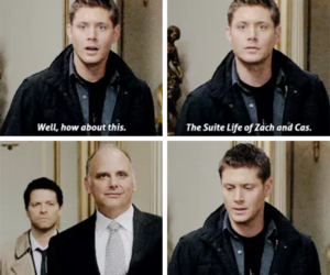 actor, angel, and dean winchester image