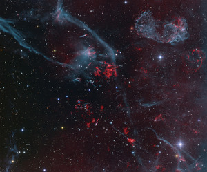 galaxy, stars, and astronomy image