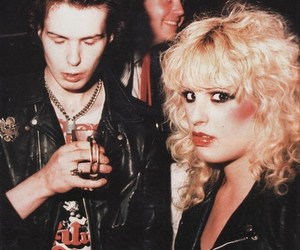 Nancy Spungen and sid vicious image