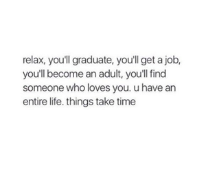 quotes, life, and job image