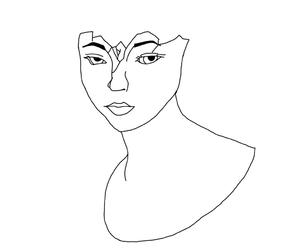 art, digital, and drawing image