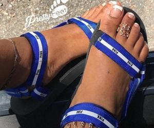 pink, sandals, and slides image