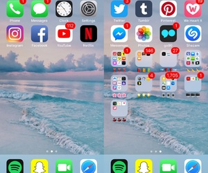 iphone, layout, and home screen image