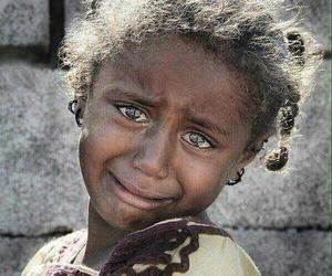 beautiful eyes, tears, and war image
