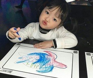 asian baby, kwon yuli, and baby image