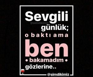 alıntı, türkçe sözler, and sevgili günlük image
