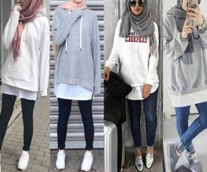 sweatshirt with hijab image