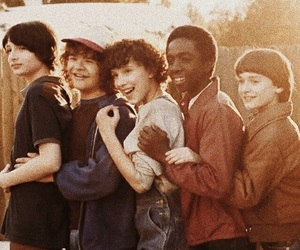 stranger things, finn wolfhard, and eleven image