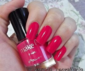 manicure, nail polish, and o boticario image
