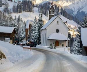 Alps, austria, and cabin image